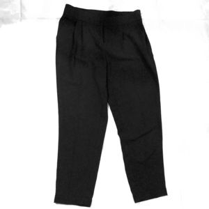 Black looser fitting dress pant